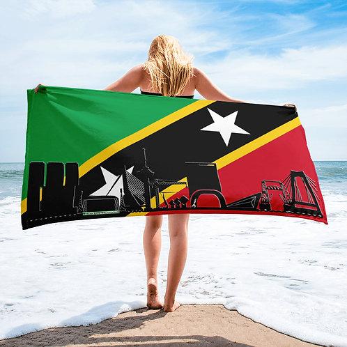 Handdoekvlag DreamskyLine Unity Sint Kitts en Nevis
