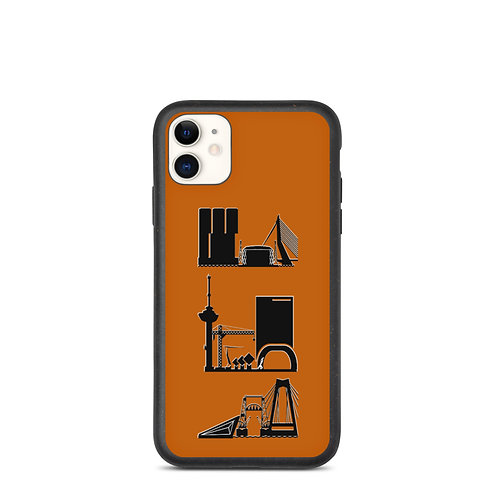 IPhone Case Brown1 DreamSkyLine ToTem Black