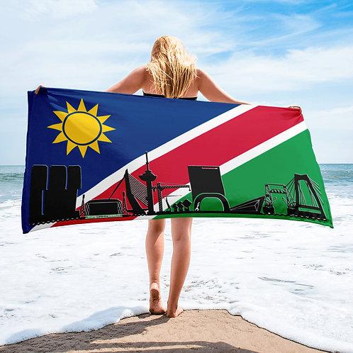 Handdoekvlag DreamSkyLine Unity Namibië