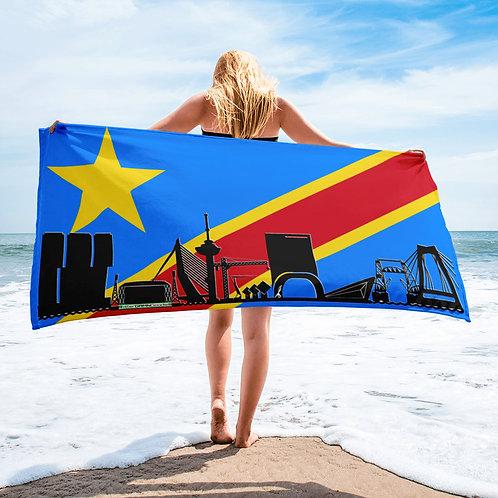 Handdoekvlag DreamSkyLine Unity Congo Democratische Republiek