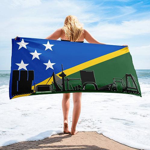 Handdoekvlag DreamSkyLine Unity Solomon Eilanden