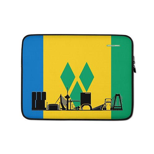 Laptopsleeve DreamSkyLine Unity Sint Vincent en de Grenadines