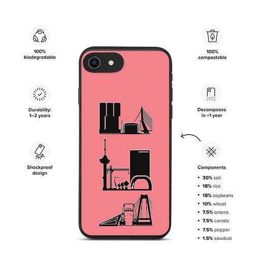 IPhone Case Pink2 DreamSkyLine ToTem Black