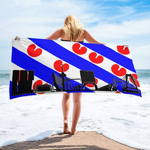 Handdoekvlag DreamSkyLine Unity Friesland