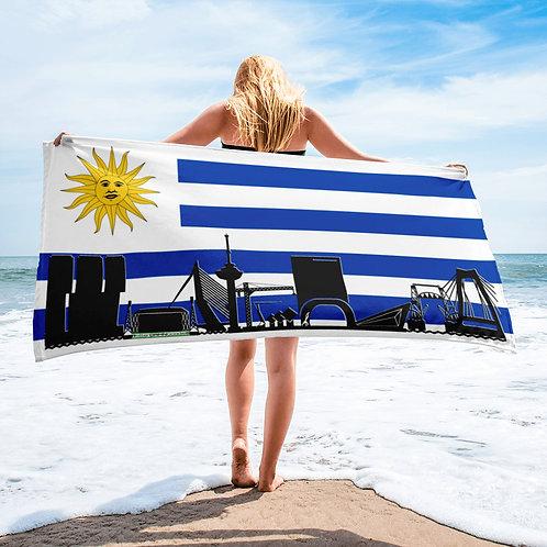 Handdoekvlag DreamSkyLine Unity Uruguay