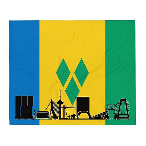 Dekenvlag DreamSkyLine Unity Sint Vincent en de Grenadines