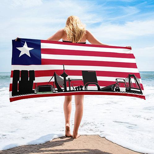 Handdoekvlag DreamSkyLine Unity Liberia