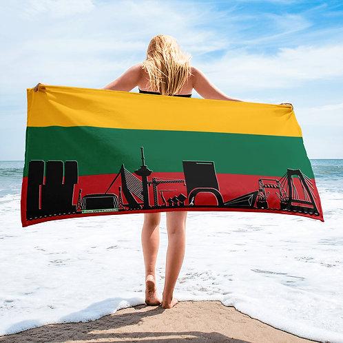 Handdoekvlag DreamSkyLine Unity Litouwen