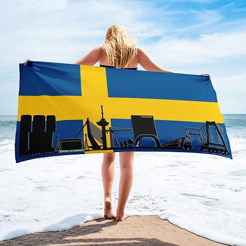 Handdoekvlag DreamSkyLine Unity Zweden