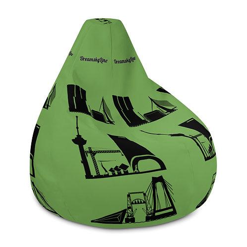 Zitzak groen DreamSkyLine ToTem Black