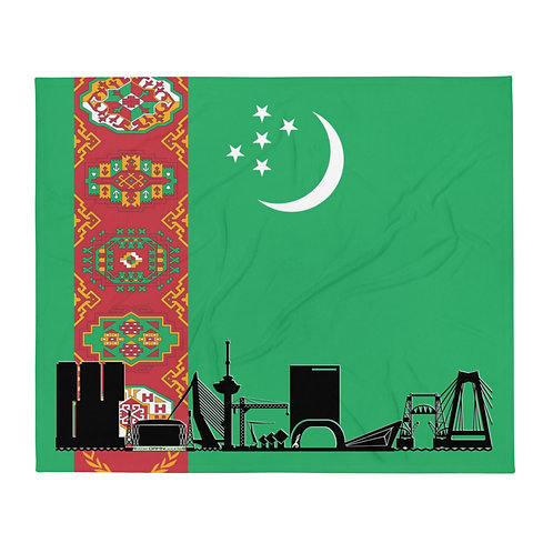 Dekenvlag DreamSkyLine Unity Turkmenistan