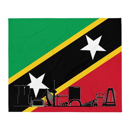 Dekenvlag DreamSkyLine Unity Sint Kitts en Nevis