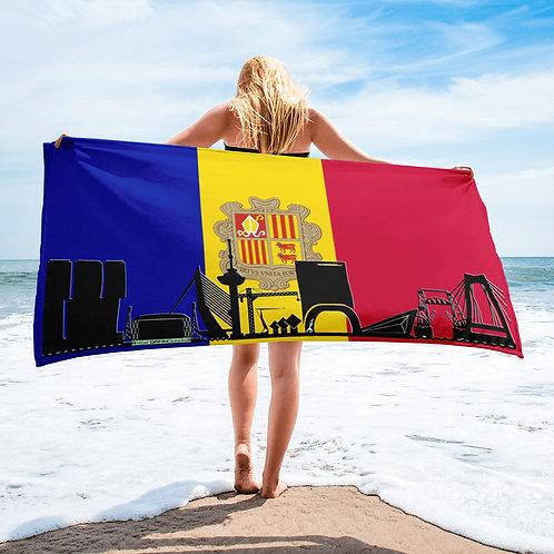 Handdoekvlag DreamSkyLine Unity Andorra