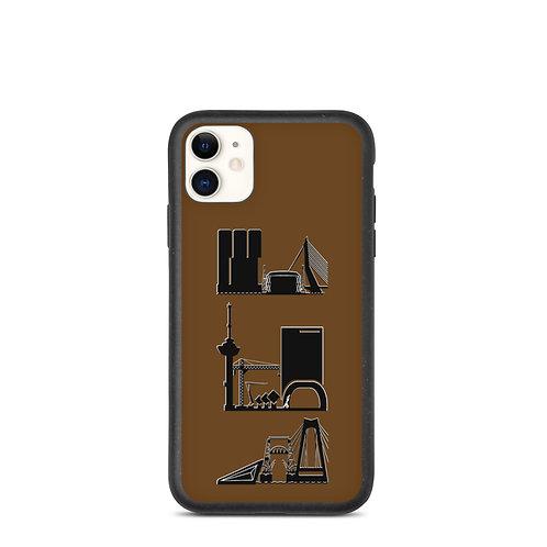 IPhone Case Brown DreamSkyLine ToTem Black