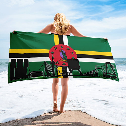 Handdoekvlag DreamskyLine Unity Dominica