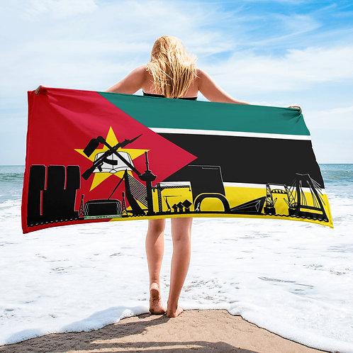 Handdoekvlag DreamSkyLine Unity Mozambique