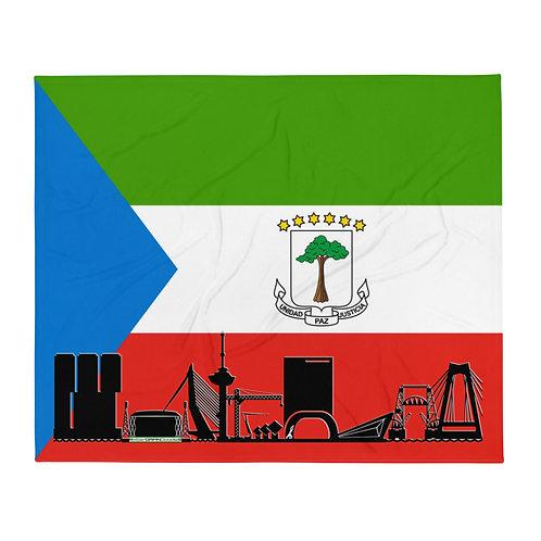 Dekenvlag DreamSkyLine Unity Equatoriaal Guinea