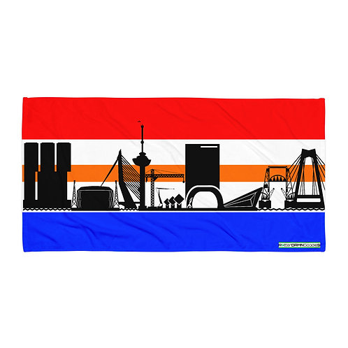 Handdoekvlag DreamSkyLine Royal Orange Ribbon