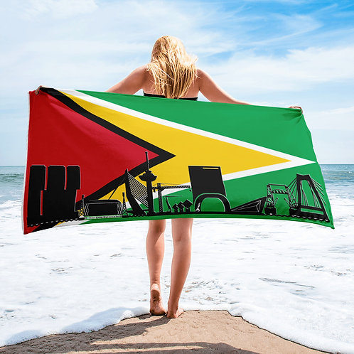 Handdoekvlag DreamSkyLine Unity Guiana