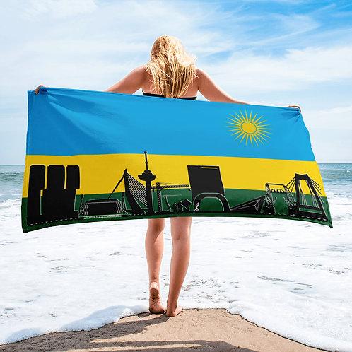 Handdoekvlag DreamSkyLine Unity Ruanda
