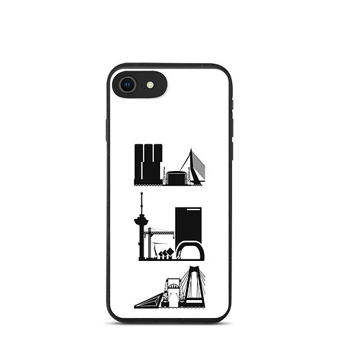 IPhone Case White DreamSkyLine ToTem Black