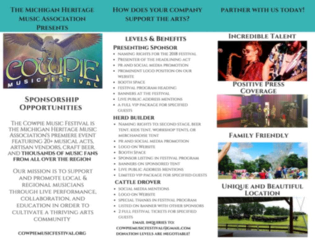 Sponsor Brochure | Sponsorship Info
