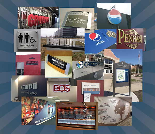 Corpoate Sign Systems products
