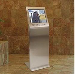 Freestanding kiosk