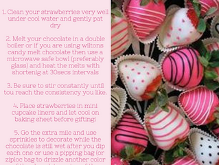DIY Chocolate Covered Strawberries