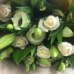 Grandiflora flowers, white flowers florist choice