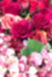 Rose silk flowers
