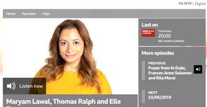 HAART on BBC Radio London