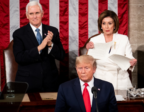 Nancy tearing up SOTU speech.png