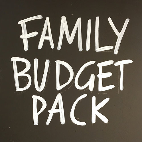 Family Budget Pack