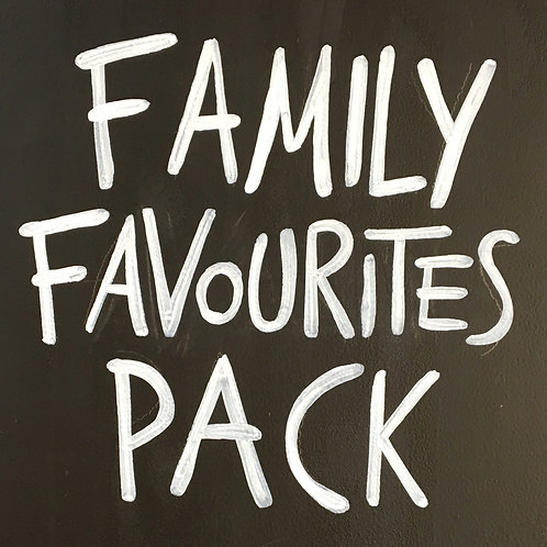 Family Favourites Pack