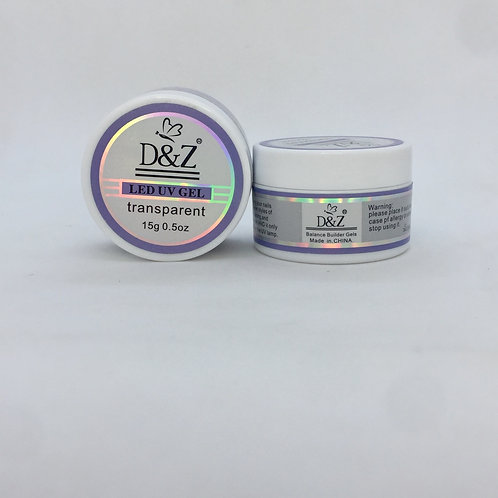 Gel D&Z Transparente