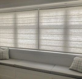 Silk Rd Roman Blinds