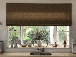 Urban Weave Roman Blinds