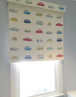 Roller Blind with matching Pelmet