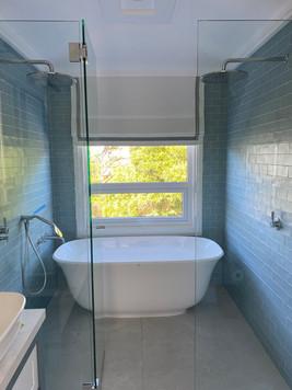 Bathroom Roman Blind
