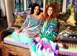 Camilla showroom cushions