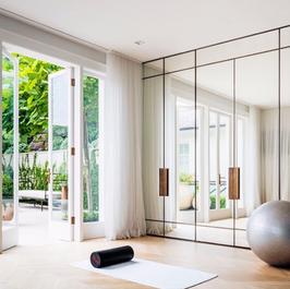 Wellness Studio Sheer Curtains
