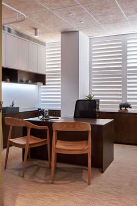 Medical Suite Shutters