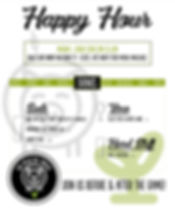 The Pig & The Sprout Happy Hour Menu Spr