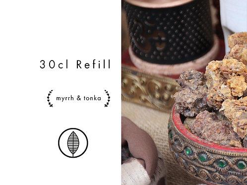 Refill 30cl - Myrrh & Tonka