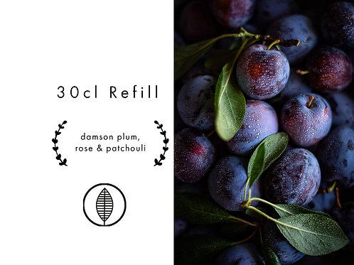 Refill 30cl - Damson Plum, Rose & Patchouli