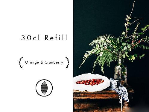 Refill 30cl - Orange & Cranberry
