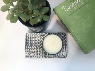 Vegan candle from Green Planet Candle Co.