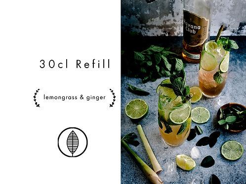 Refill 30cl - Lemongrass & Ginger