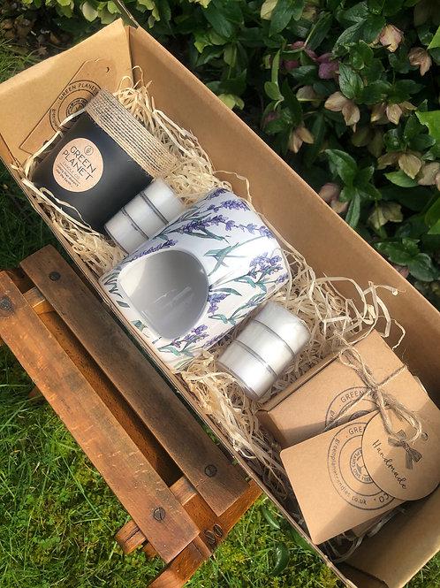 Lavandin & Himalayan Cedar Candle/Melt Set